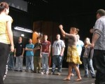 Wisconsin High School workshop from 2008 Mid West tour