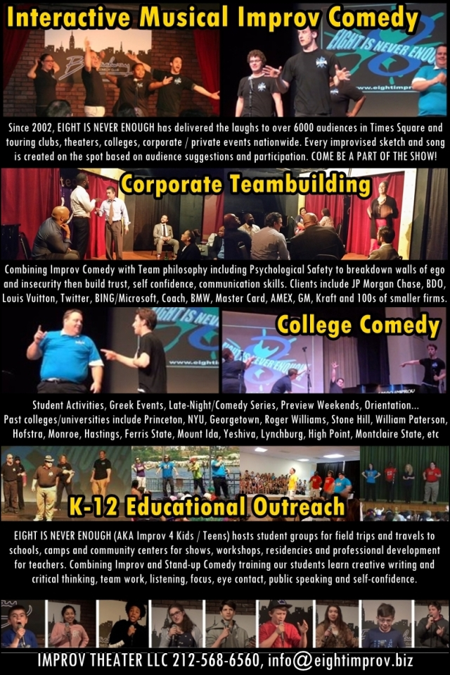 New York Improv Theater | Shows & Classes in Times Square and