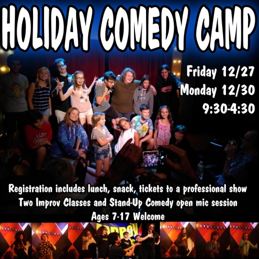 holiday-comedy-camp-kids-teens-nyc